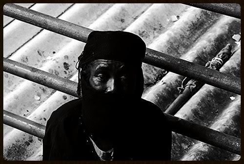 The Muslim Beggar Lady on The Bandra Skywalk by firoze shakir photographerno1