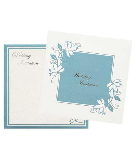 Nakoda Cards Elegant Wedding Invitation Card   Pack Of 100