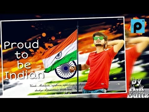 Independence Day Image Manipulation in Picsart | Independence Photo editing | 2018 New Editing Video