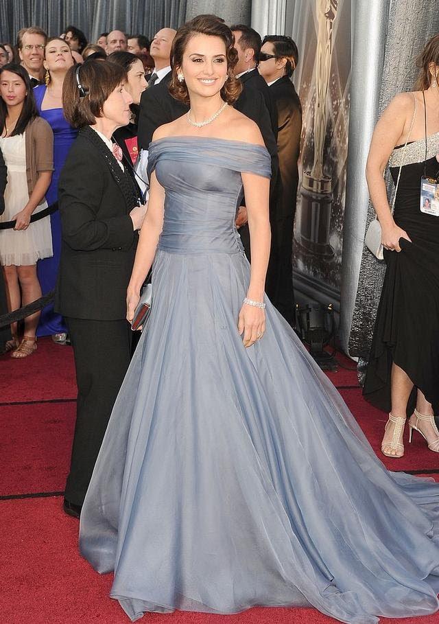 vestido de Penélope Cruz Oscar 2012