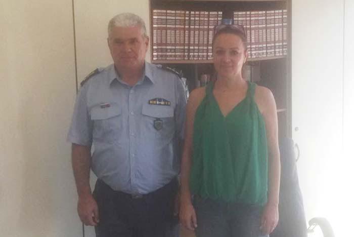 Άρτα: Στη Δήμαρχο Νικ. Σκουφά ο νέος Διευθυντής Αστυνομίας Άρτας