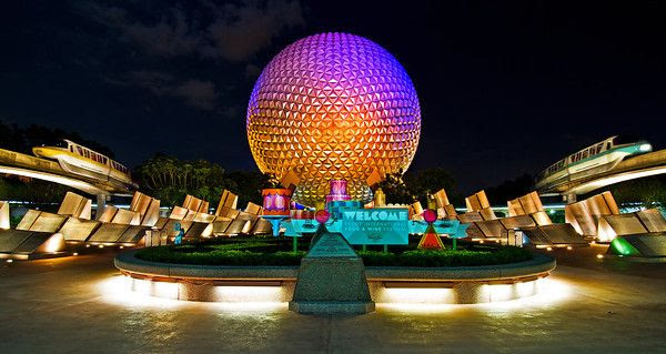 Disney World Epcot Rides