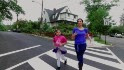 Building up young girls through running