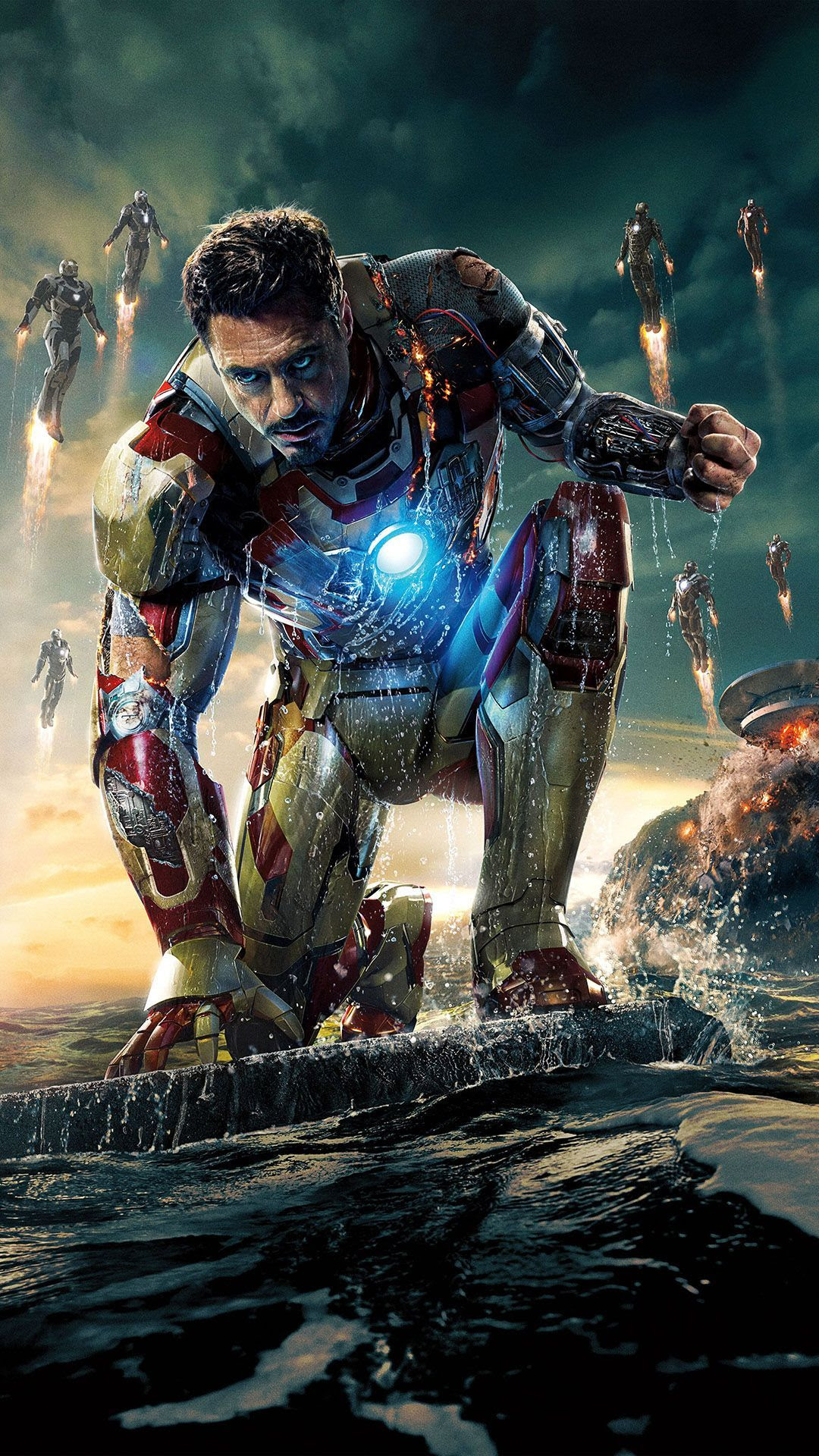 10 HD Iron Man iPhone 6 Wallpapers - The Nology