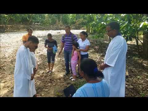 Bautizo loanmy y jose manuel iglesia cristo para todos