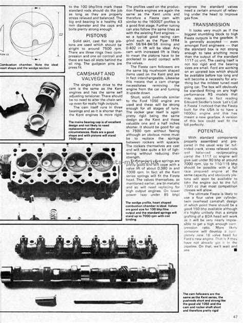 Ford Fiesta MK1 » Magazine Articles UK » Cars and Car