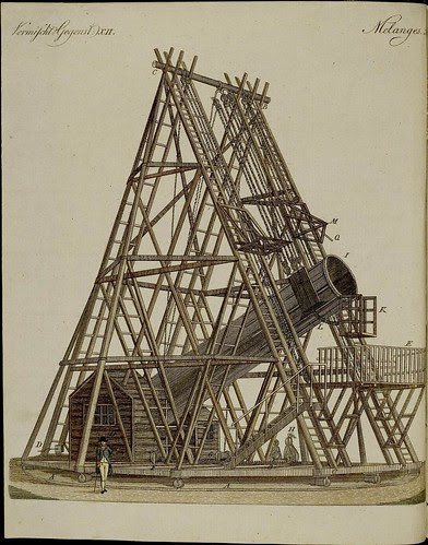 Telescope emplacement + scaffold