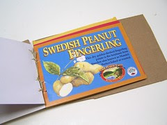 swedish peanut fingerling postcard