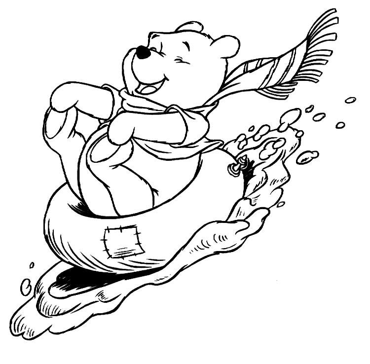 Winter Season Coloring Pages   Crafts and Worksheets for ...