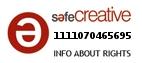 Safe Creative #1111070465695