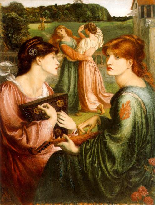 Dante Gabriel Rossetti - The Beloved (The Bride)