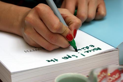 Rosie book signing