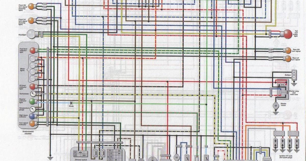 2002 Yzf 600 Wiring Diagram