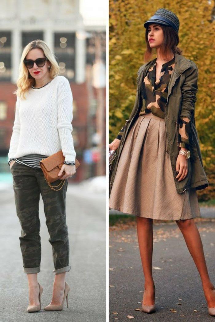 fall season camouflage fashion for women 2019