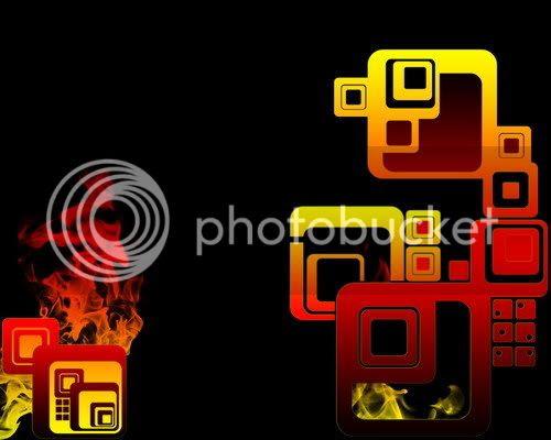 Cubes Fire