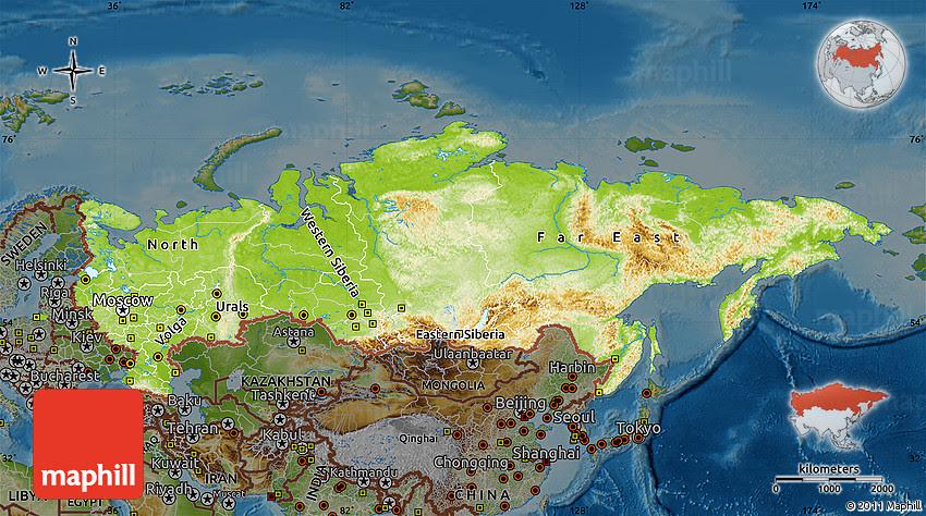 Russia Elevation Map Loveluxleblog