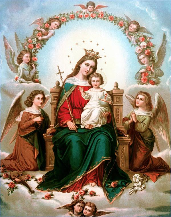 María es la Madre de Dios.