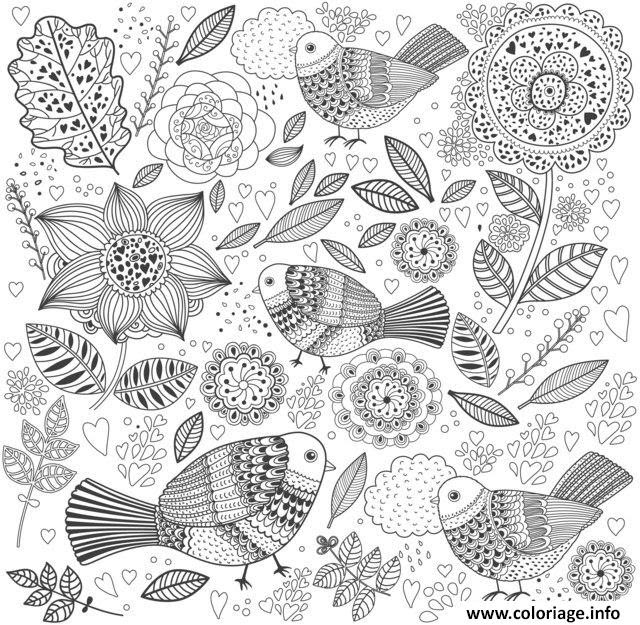 Coloriage Anti Stress Animaux Jecoloriecom