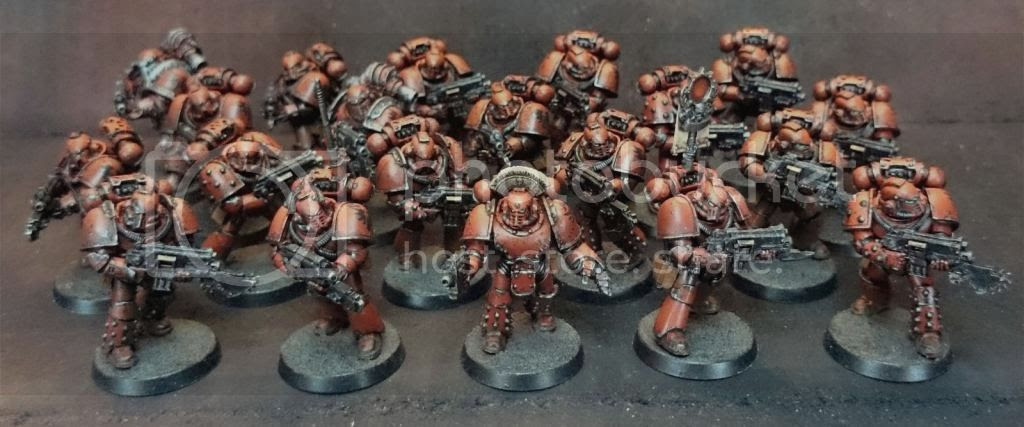 30k Heresy Tactical Squad