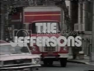 Opening credits of The Jeffersons