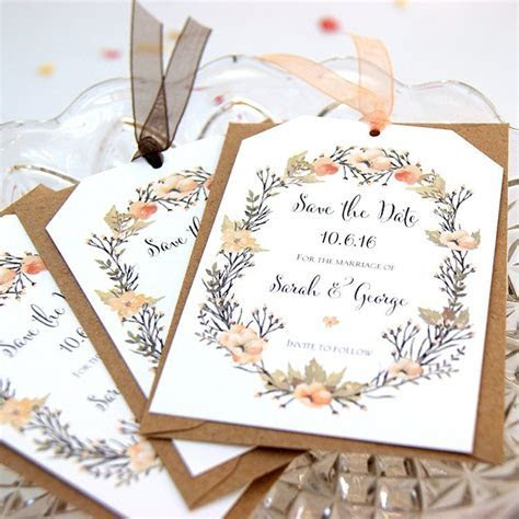The Prettiest Save The Date Stationery by Hummingbird