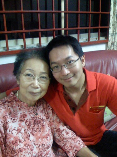 Cousin Lip Pin and Grandma