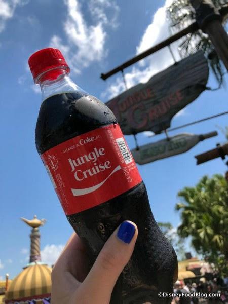 Jungle Cruise Coke Bottle