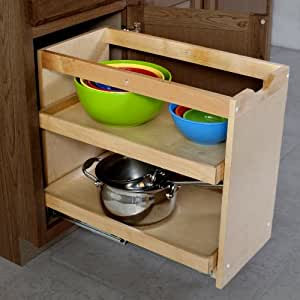 Amazon.com - Cabinet Pullout Shelving Organizer 14 Inch ...