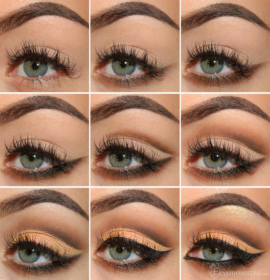 Mellow & Brown Cut Crease Eye Makeup Tutorial | Fashionisers