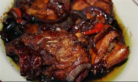 ayam masak kicap pedas cahaya hayati