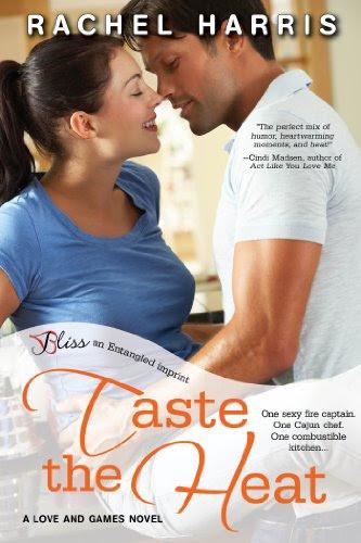 Taste the Heat (A Love and Games Novel) (Entangled Bliss) by Rachel Harris