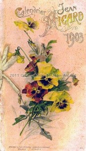 Calendrier 1903