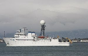 English: R337 NOAA vessel in San Francisco Bay