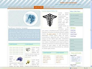 healtcare website template