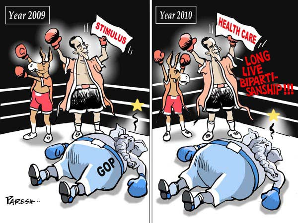 Cartoon by Paresh Nath
