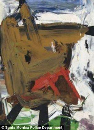 Stolen artwork by Franz Kline