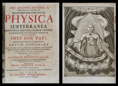 Actorum laboratorii chymici monacensis (physica subterranea) 1738