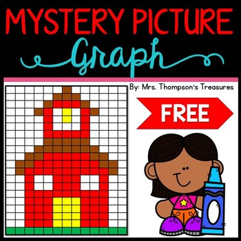 Back to School Math Graphing Activity - Mystery Picture