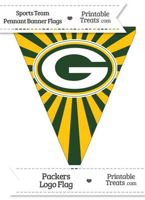 78 Best images about Green Bay Packers Printables on
