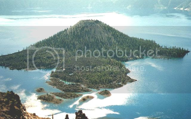 Wizard Island. Credit: USGS