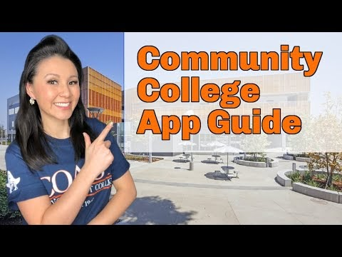 College Guide: Everything you need to know about the Community College Process (2021 UPDATE!)