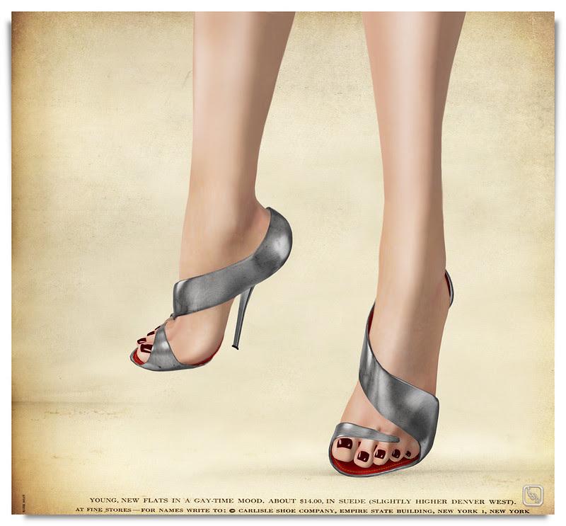Shoetopia 2013: Silver Swerve.