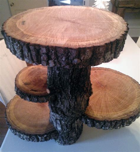 Check out this awesome cake stand on Etsy! SOLD Rustic 4