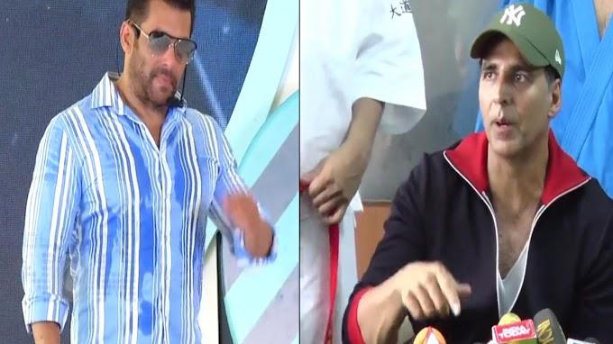 'Radhe' vs 'Laxmmi Bomb': Salman Khan reacts on his clash with Akshay Kumar at box office | Hindi Movie News - Bollywood - Times of India