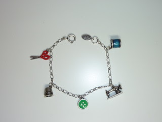 Cath Kidston Sewing Charms Bracelet