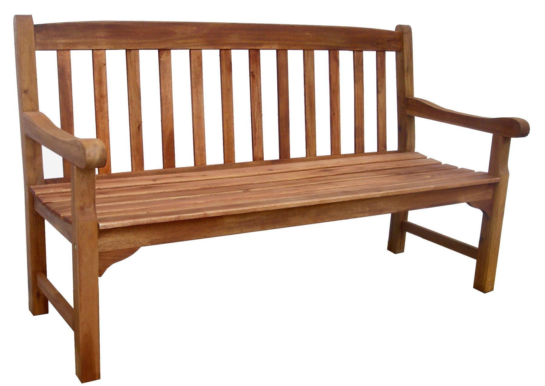 Rangoon 3 Seater Bench - Simply Wood
