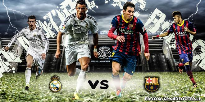 القنوات الناقلة لمباراة ريال مدريد وبرشلونة مجانا