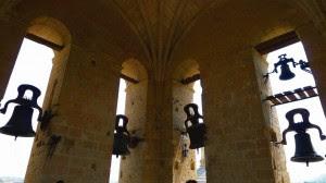 Sinos da Catedral de Segóvia (Espanha).