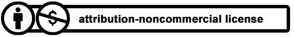 Attribution - Non Commercial License