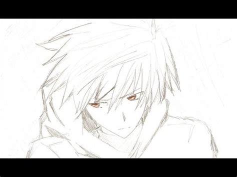 draw  anime boy easy tutorial youtube